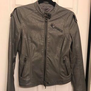 Fox jacket grey